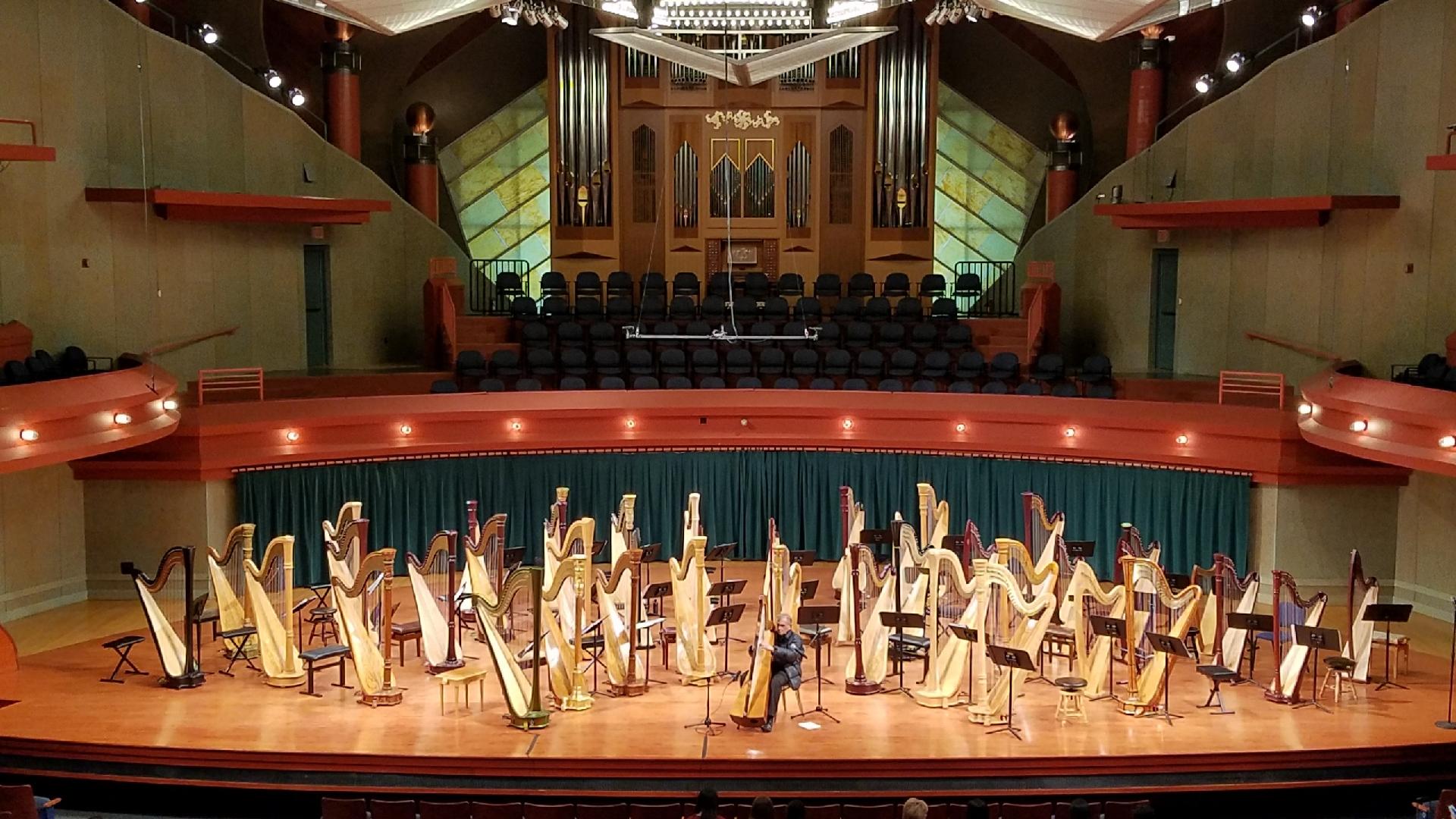 welcome to unt harp studies